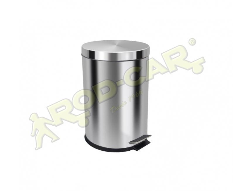 LIXEIRA COM PEDAL 20L INOX