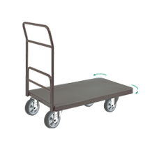 Carros Plataforma Pintado c/ Cantos Arredondados