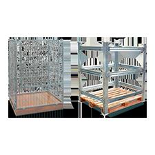 Estruturas para pallet de madeira